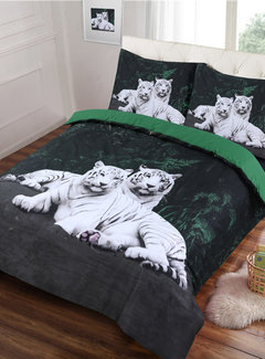 Cotton Club Dekbedovertrek Tiger Love