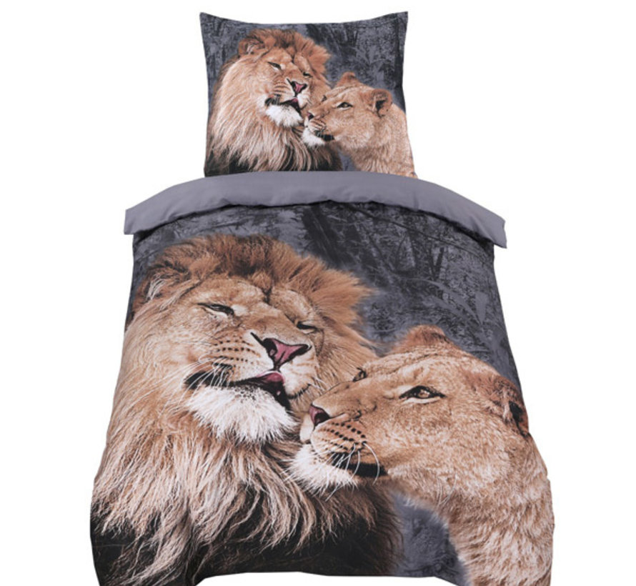 Dekbedovertrek Lion Love