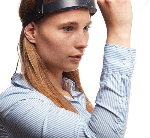 Overige Merken Faceshield Opklapbaar - Gezichtsmasker - Gezichtsbeschermer - Gelaatsscherm