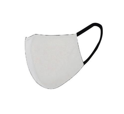 Overige Merken Groothandel Stoffen Mondkapjes Wit - Herbruikbare Katoenen Mondkappen (min. afname 120 stuks)