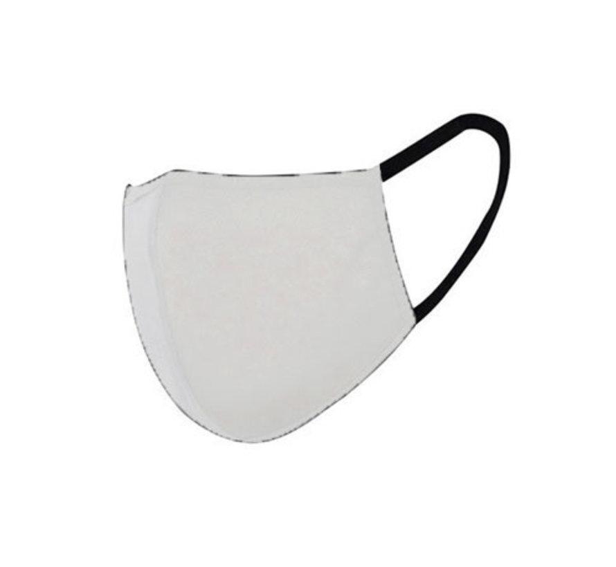 Groothandel Stoffen Mondkapjes Wit - Herbruikbare Katoenen Mondkappen (min. afname 120 stuks)