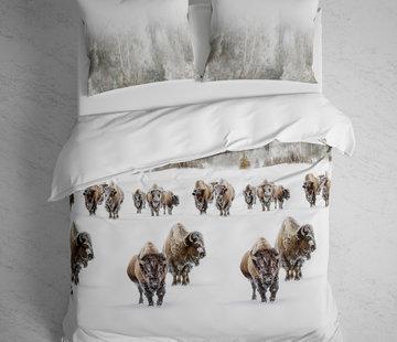 Heckett & Lane Dekbedovertrek Flanel Obrien Buffalo