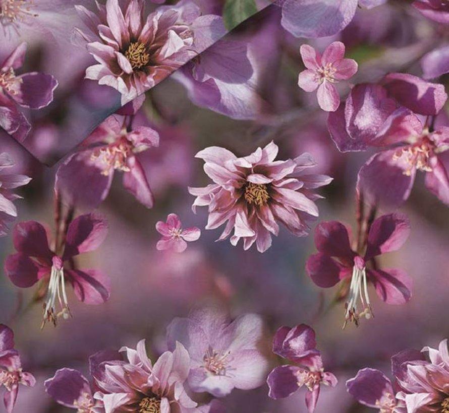 Katoen Flanellen Dekbedovertrek Margaret Purple