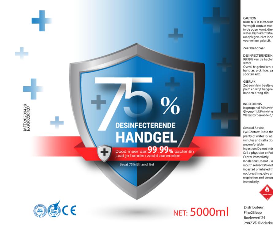 Antibacteriële Desinfectie Handgel 5 Liter