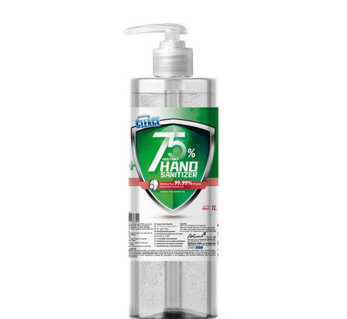 Cleace 1 Liter Jumbo Pot Alcohol Handgel met Pomp