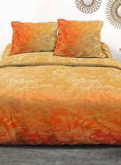 Refined Bedding Dekbedovertrek Ornament Yellow Orange