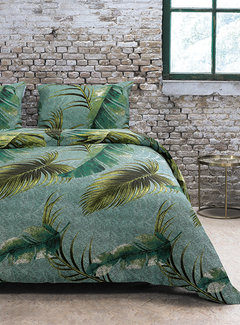 Refined Bedding Dekbedovertrek Jungle Green