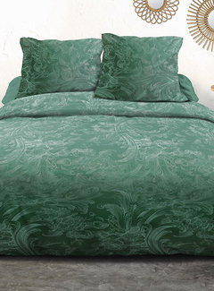 Refined Bedding Dekbedovertrek Ornament Green