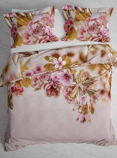 Heckett & Lane Dekbedovertrek Twill Katoen Rosie Prism Pink