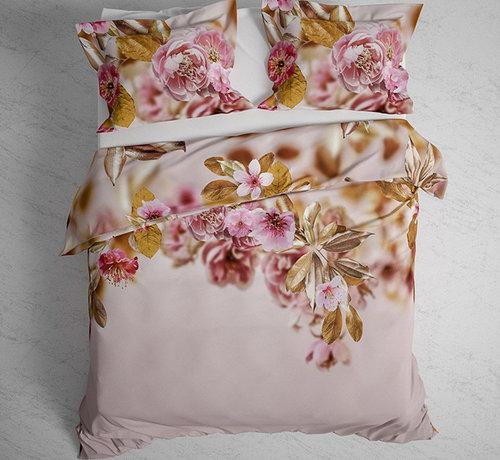 Heckett & Lane Katoen Twill Dekbedovertrek Rosie Prism Pink