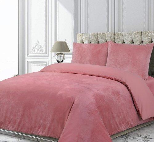 Velvet Couture Fluweel Dekbedovertrek Roze