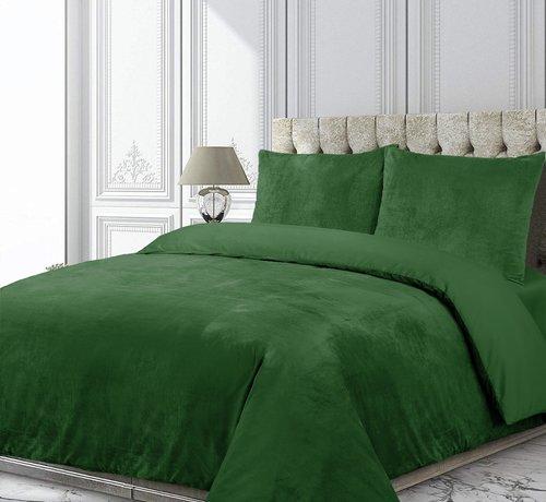 Velvet Couture Fluweel Dekbedovertrek Groen