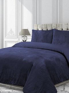 Velvet Couture Fluwelen Dekbedovertrek Blauw