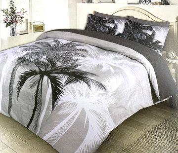 Refined Bedding Dekbedovertrek Flanel Palmtrees