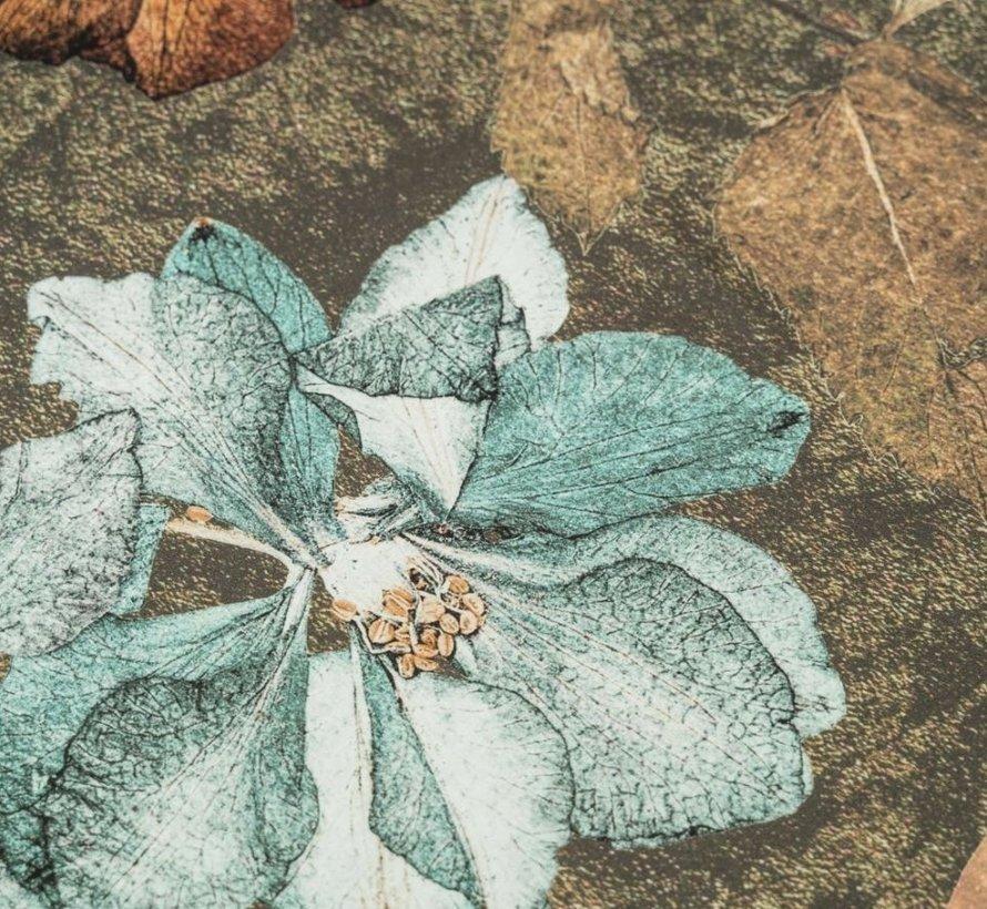 Biologisch Dekbedovertrek Katoen Satijn Furano Bruin