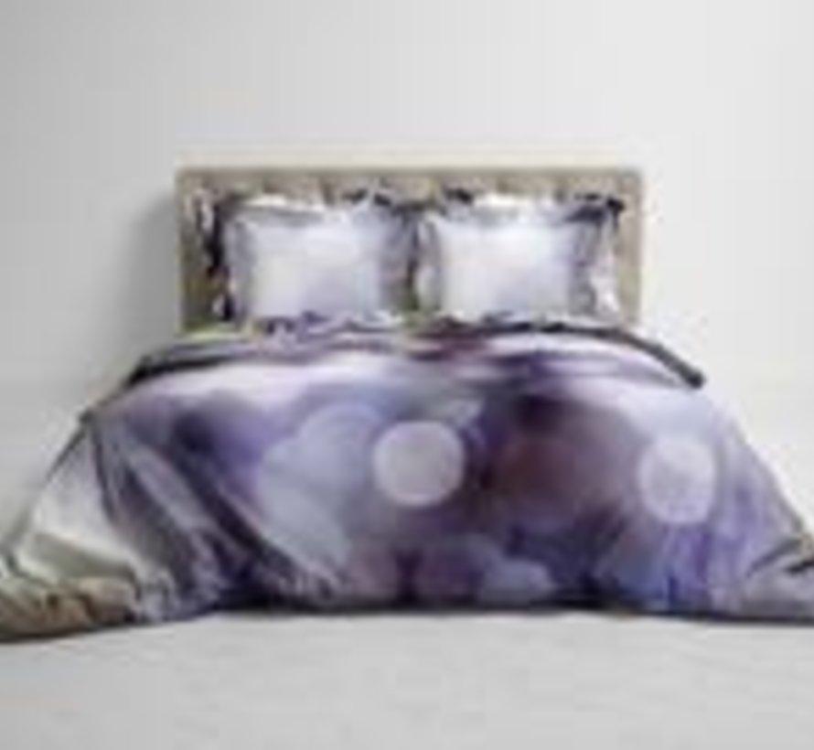 Katoen Satijnen Dekbedovertrek Yuna Wisteria Shade Purple