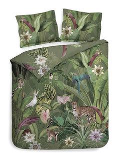 Heckett & Lane Dekbedovertrek Katoen Satijn Jungle Animals