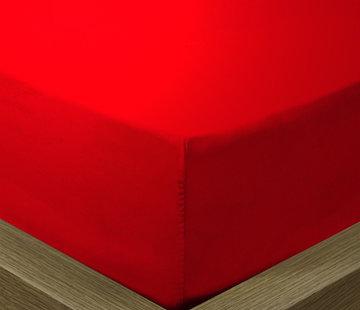 Suite Sheets Hoeslaken Katoen Rood
