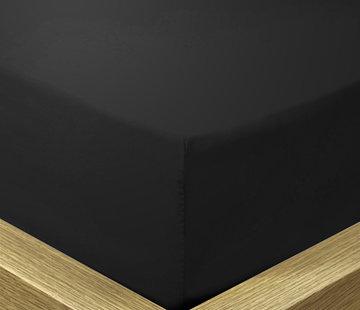 Suite Sheets Hoeslaken Katoen Zwart