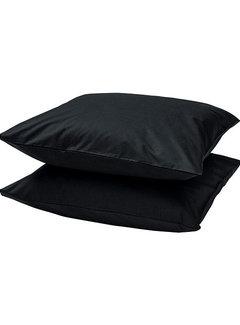 Suite Sheets Kussenslopen Katoen Zwart