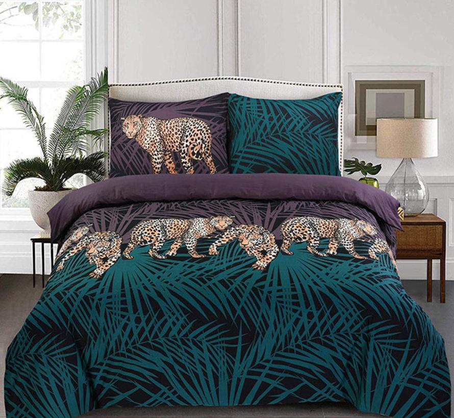 Katoenen Dekbedovertrek Cheetah