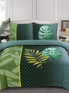 Inspirations Dekbedovertrek Katoen Leaf Green