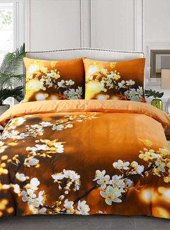 Inspirations Dekbedovertrek Katoen Blossom Yellow