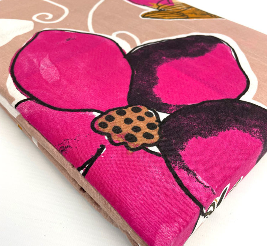 Birds Pink Dekbedovertrek Roze