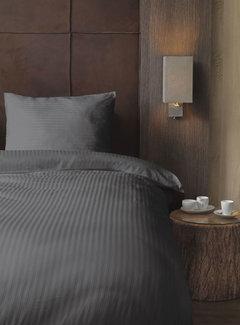 Beau Maison  Hotellinnen Grijs Katoen Satijn