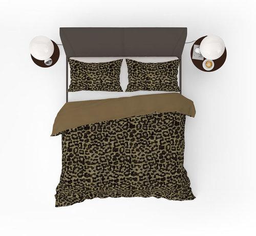 Refined Bedding Panther Yellow Dekbedovertrek Zwart Geel
