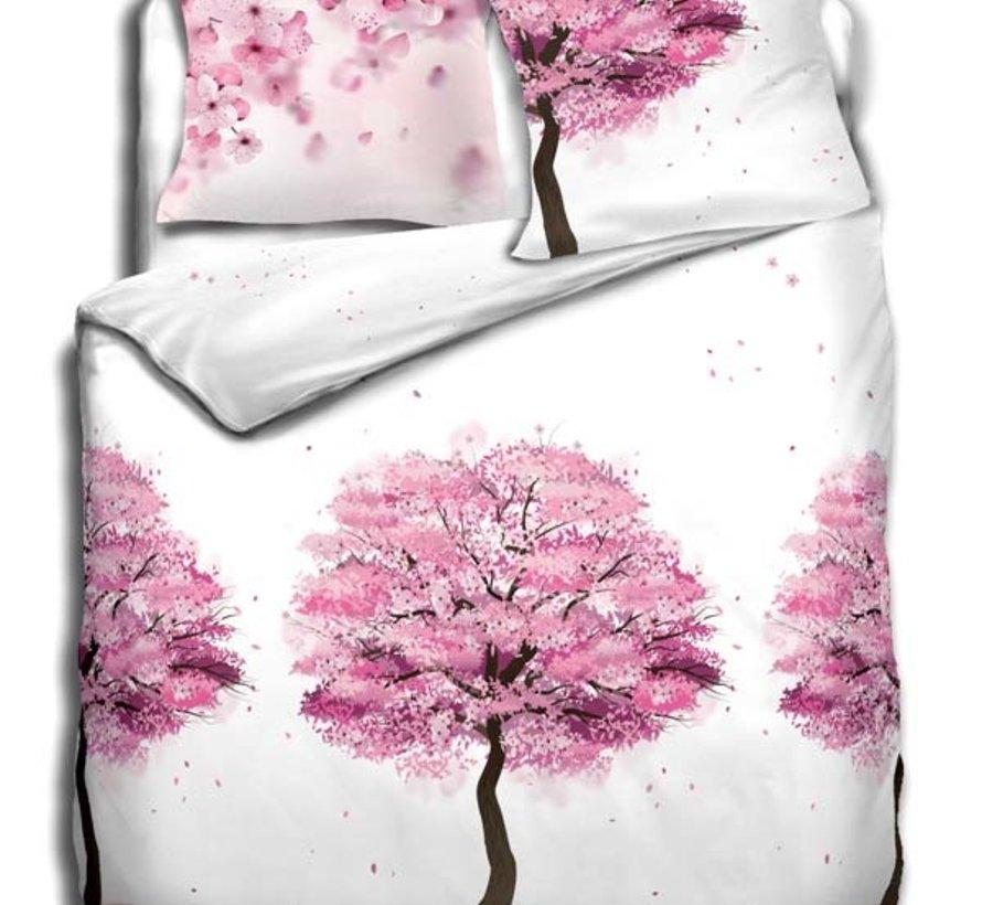 Refined Bedding  Dekbedovertrek Cherry Blossom Multicolor