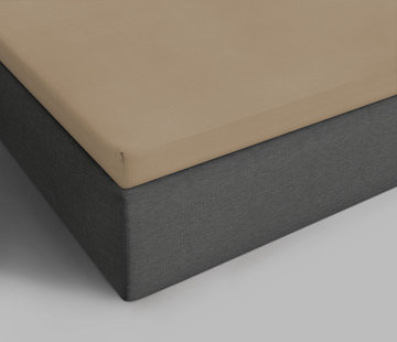 Suite Sheets Topper Hoeslaken Jersey Taupe