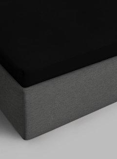 Suite Sheets Topper Hoeslaken Jersey Zwart