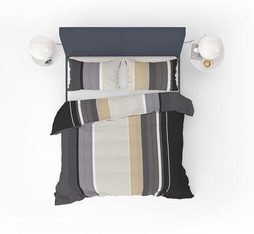 Refined Bedding Refined Bedding Dekbedovertrek Fashion Caramel Multicolor