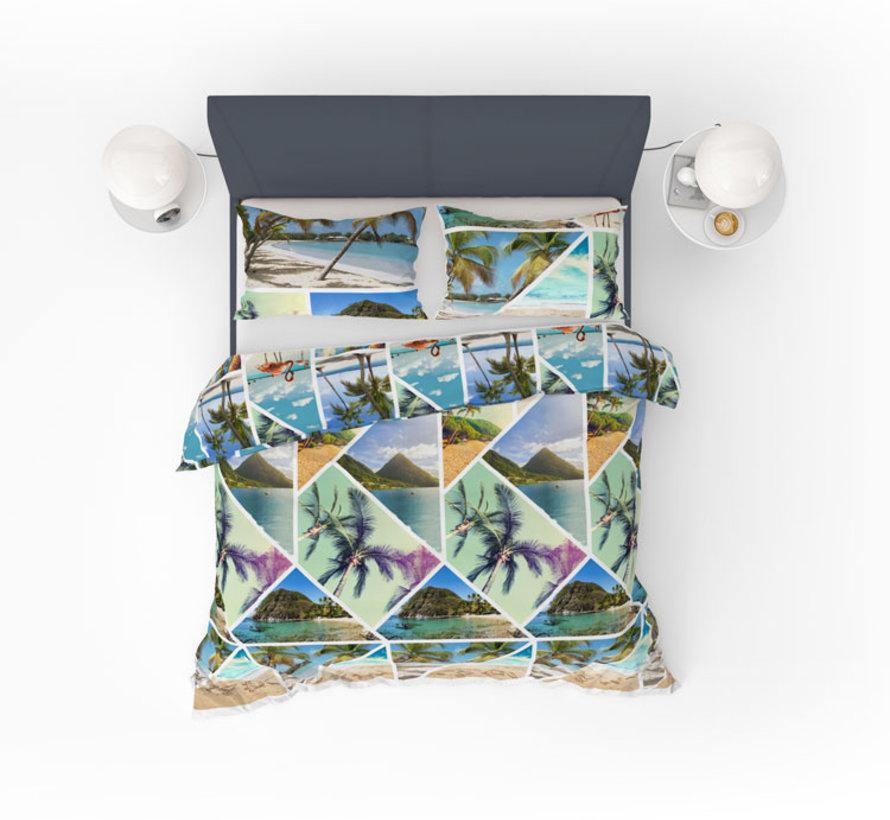 Refined Bedding Dekbedovertrek Miami Multicolor