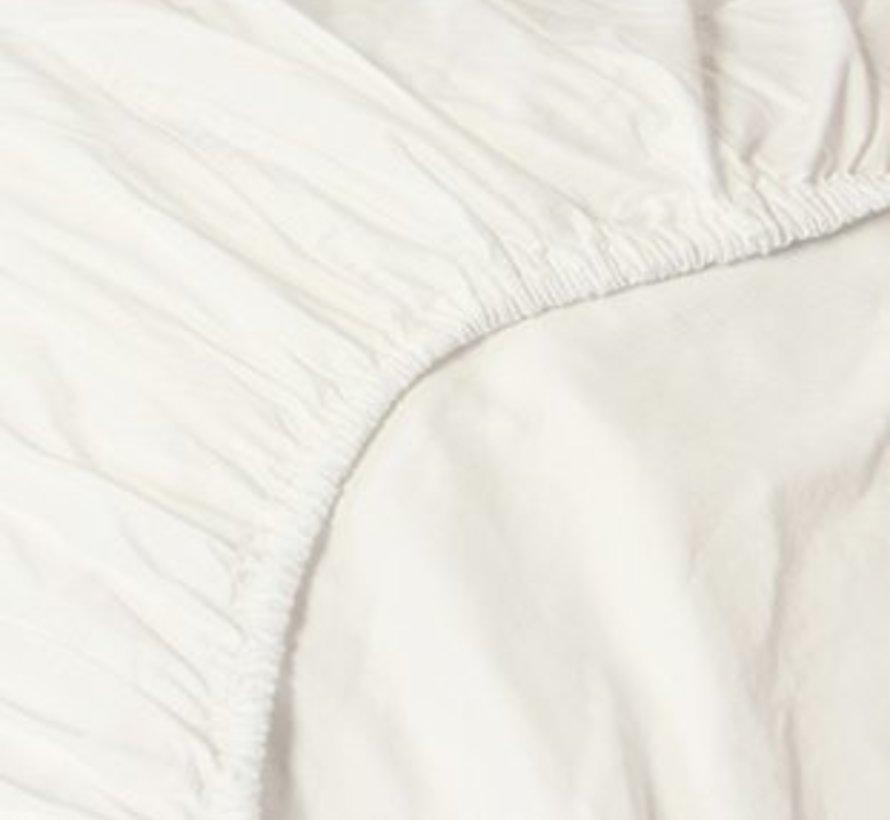 Hoeslaken Satijn Creme - Off White - 100% Katoen Satijn