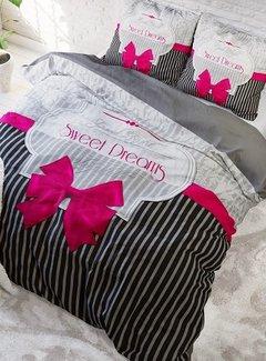 Sleeptime Pure Cotton Dekbedovertrek Sweet Dreams Roze