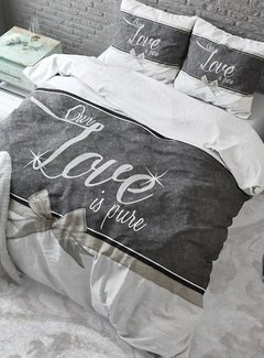 Sleeptime Pure Cotton Dekbedovertrek Pure Love White