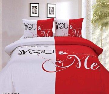 Dream Time Dekbedovertrek You & Me Red