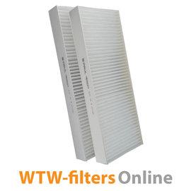 Paul Paul Novus (F) 300 / 450 filterset Origineel G4+F7