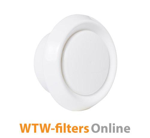 WTW-filtersOnline exhaust air valve Ø 100 mm. plastic