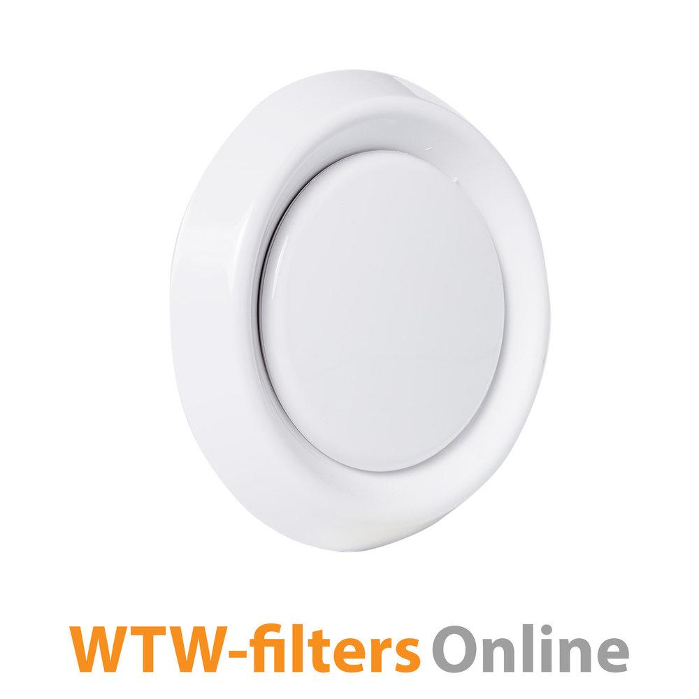 WTW-filtersOnline Afvoerventiel Ø 125 mm. kunststof