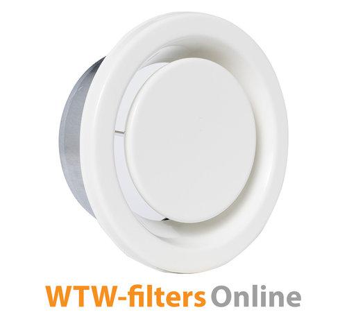 WTW-filtersOnline Afvoerventiel Ø 125 mm. metaal