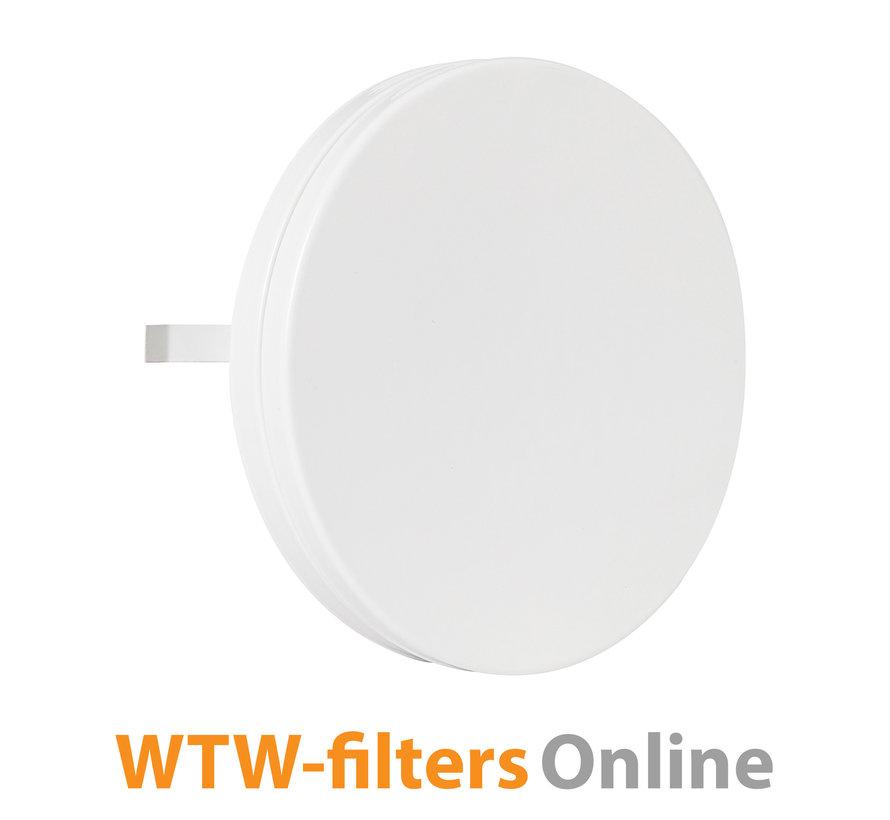 Toevoerventiel Ø 100 mm. metaal