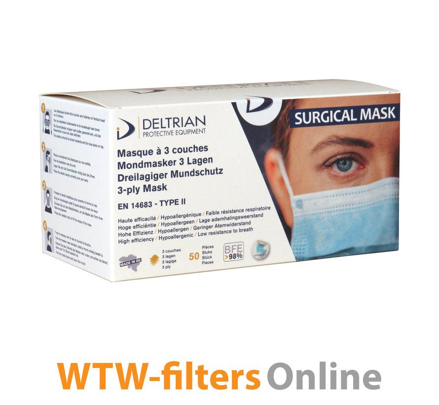 DeltriSafe Medisch Mondmasker