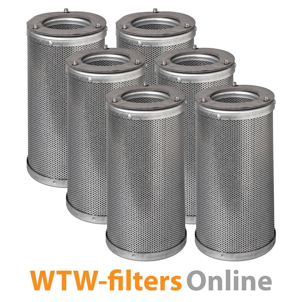 WTW-filtersOnline Actiefkoolcilinderset voor TOPS Filterbox