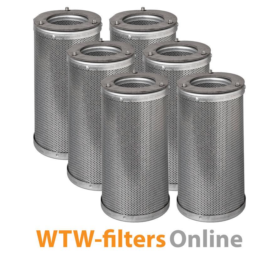 Actiefkoolcilinderset voor TOPS Filterbox