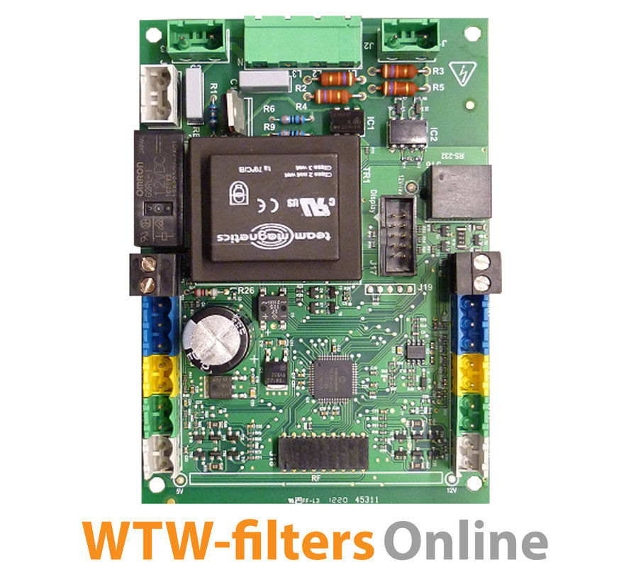 Besturingsprint WHR 950 / ComfoD 450 / ComfoAir 500