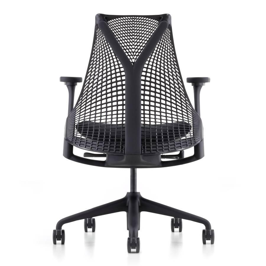 Swell Herman Miller Sayl Zwart 4D Armleggers Pabps2019 Chair Design Images Pabps2019Com