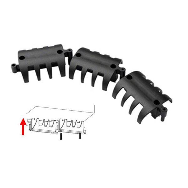 Kabelgoot flexibel zwart